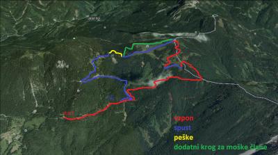 Nova trasa (klik za večjo sliko)
